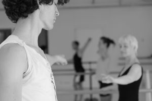 Ballett im Tanzstudio motion*s