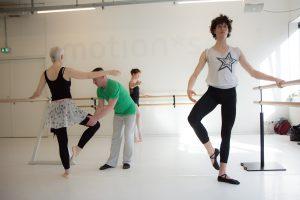Ballett Mittelstufe - Klassischer Tanzunterricht bei Jo Siska