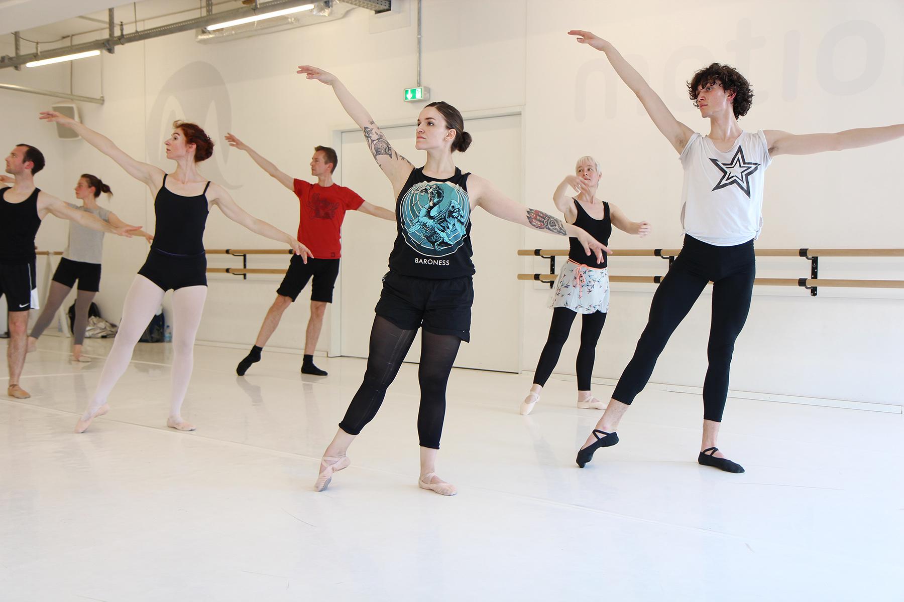 Ballett Unterricht - Jo Siska- Ballett Mittelstufe 6333