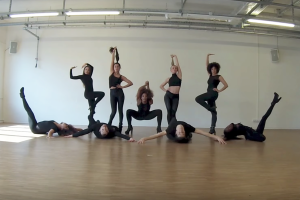 Voguing House of Melody im motion*s Tanzstudio