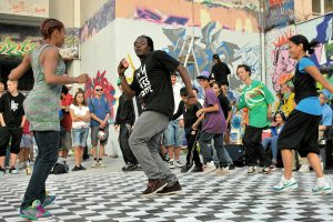 Hip Hop mixed Styles mit Prince Ofori