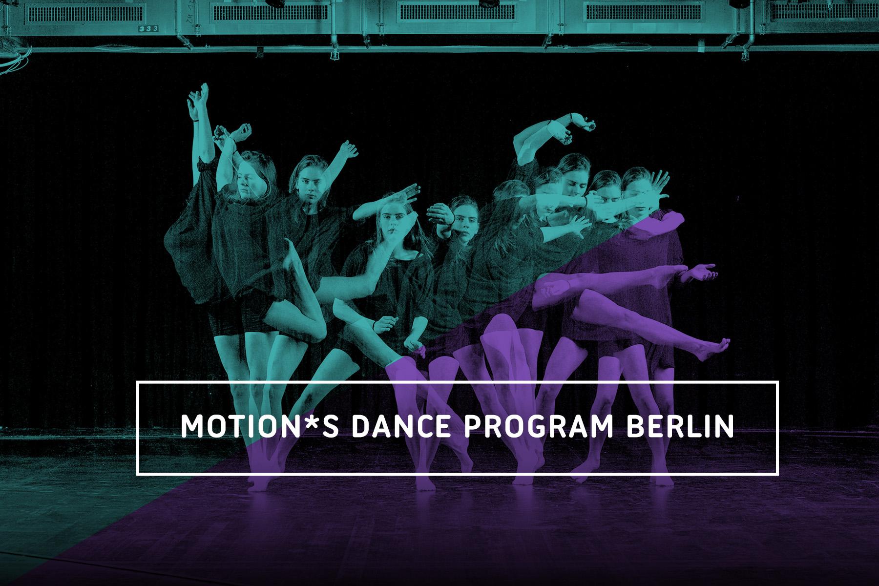 Zur Vorbereitung für einen beruflichen Ausbildungsweg im Bereich Tanz aber auch als vertiefenden und realitätsnahen Erfahrungsraum bietet das motion*s Tanz- und Bewegungsstudio ein neunmonatiges Intensiv-Programm an. Dabei gibt es unter anderem Unterricht in: Ballett, Contemporary, Urban Dance, Modern Technique, Gaga Technique, Gyrokinesis, Partnering und Contact, Yoga und Körperwahrnehmung.