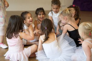 Kreativer Kindertanz, Ballett für Kinder ab 3 Jahren im motion*s Tanzstudio Berlin Kreuzberg