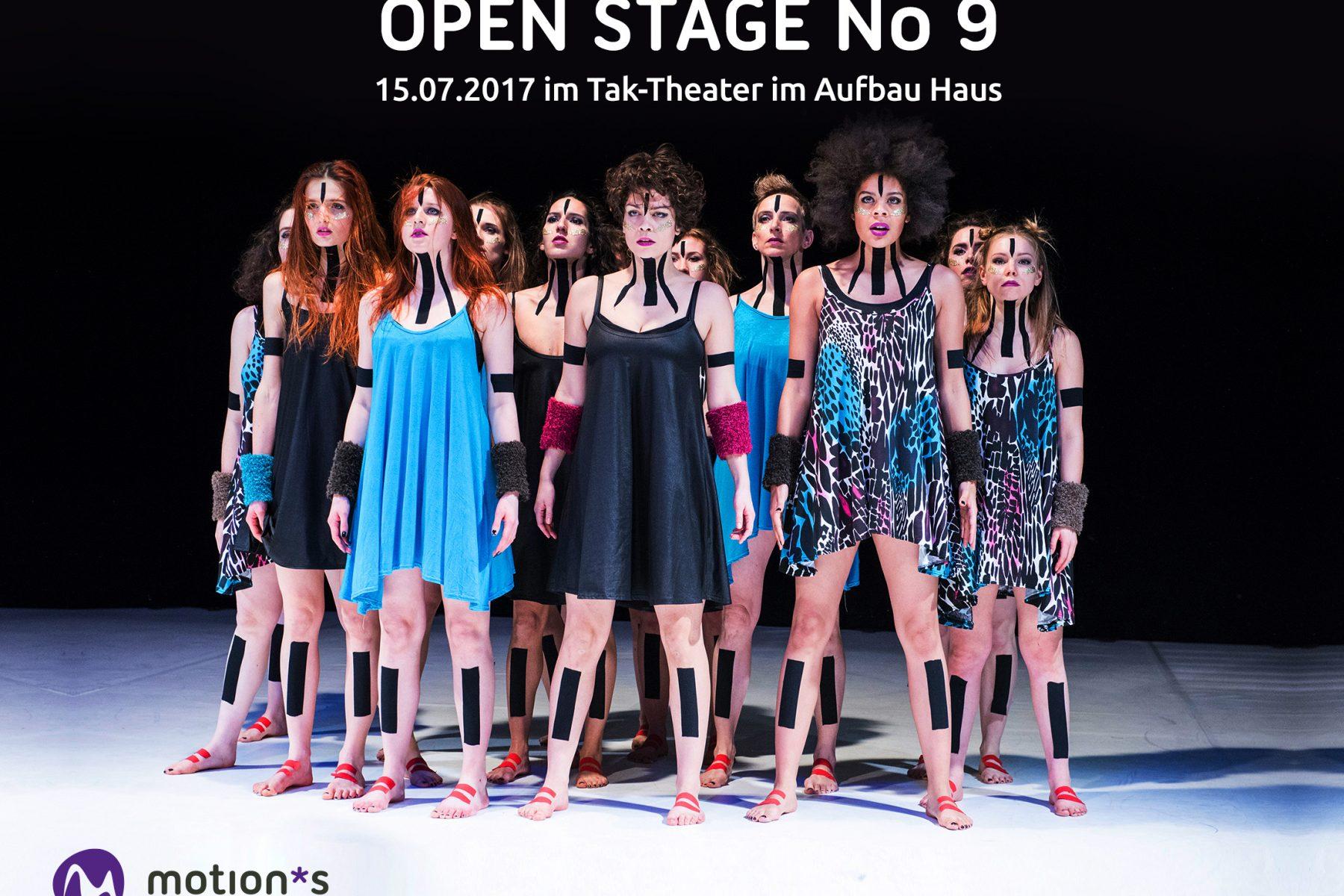 motion*s Tanzstudio open stage 9 Promo