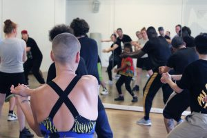 2017/08 Locking Workshop mit Flockey Ocscor