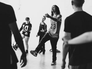 LesTwins Workshop motion*s Tanzstudio Berlin April 2019. Photo by Franziska Brodhun
