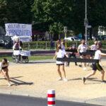 2021 August - Tanzdemo als Erdatz für Karneval der Kulturen und für die Wichtigkeit von Tanz und Kultur - Foto: Gero Nagel